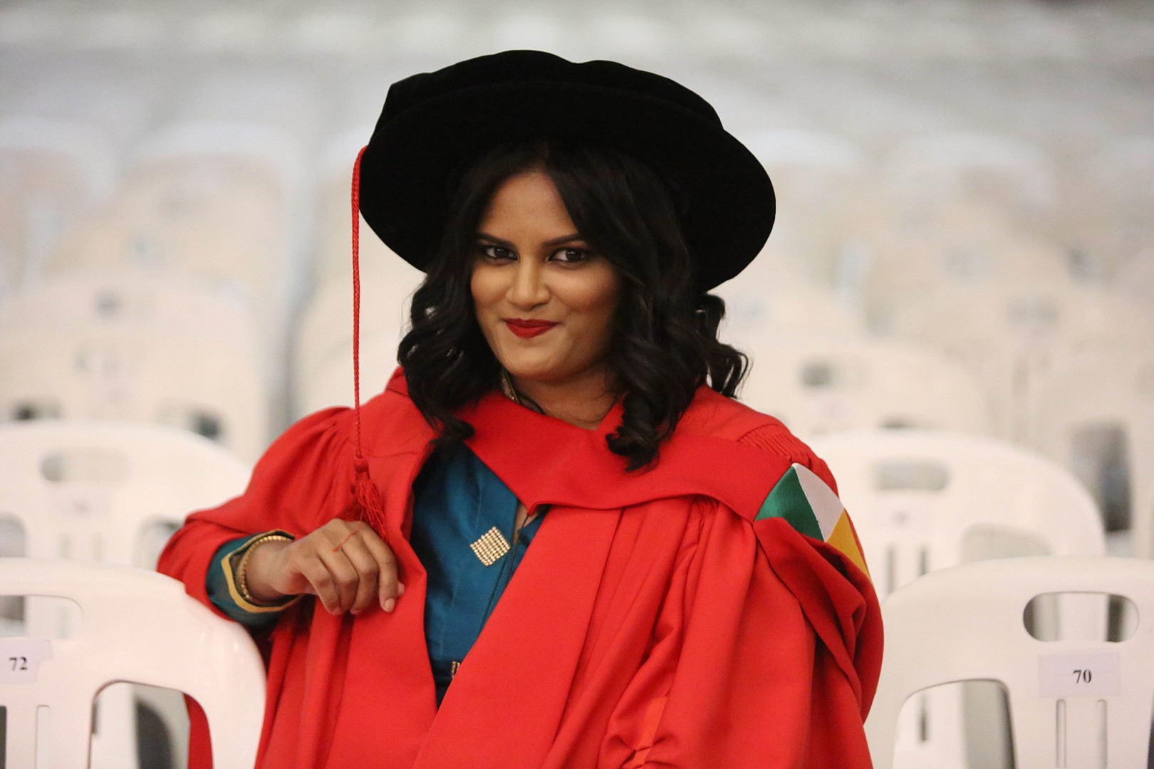 Dr Shaaista Moosa graduates with her PhD in Education from UKZN