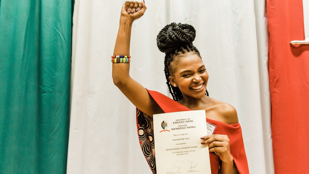 Education Student Defies the Odds to Receive Distinguished Student Award