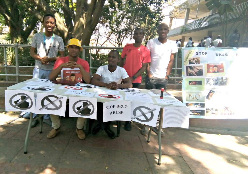 Education Students Involved in Campus Community Upliftment