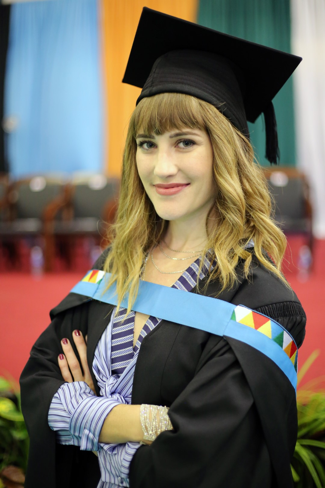 Ms Nicolette Carboni was awarded her Masters in Education summa cum laude.