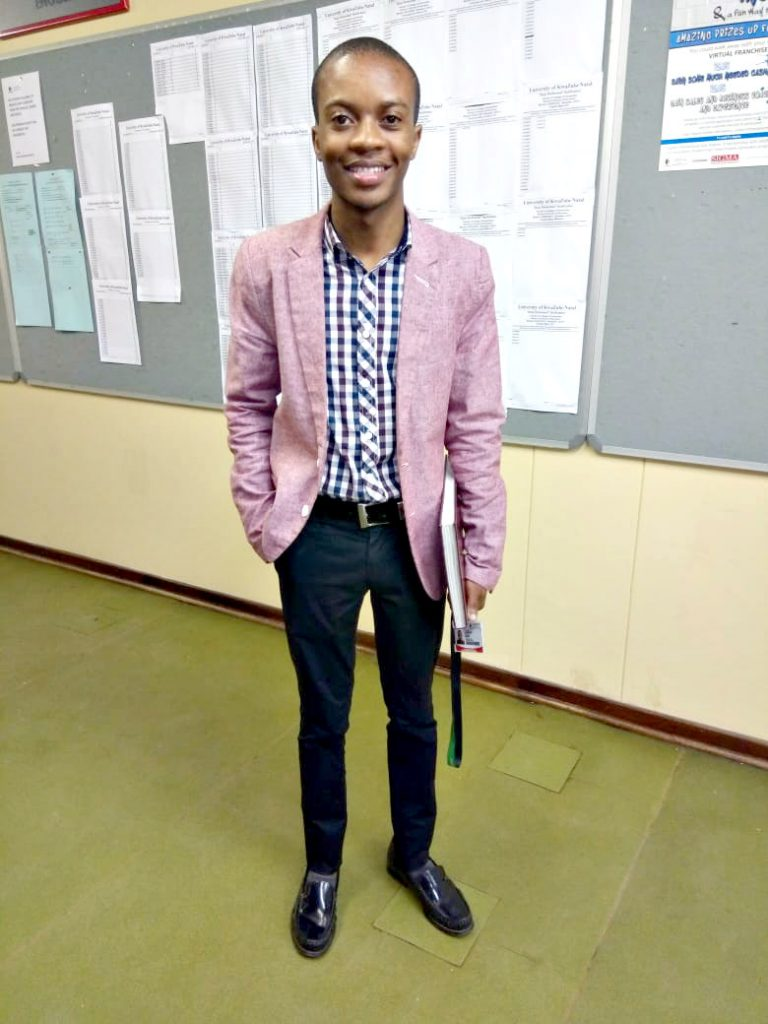Education student recognised as a UKZN Inspiring Student