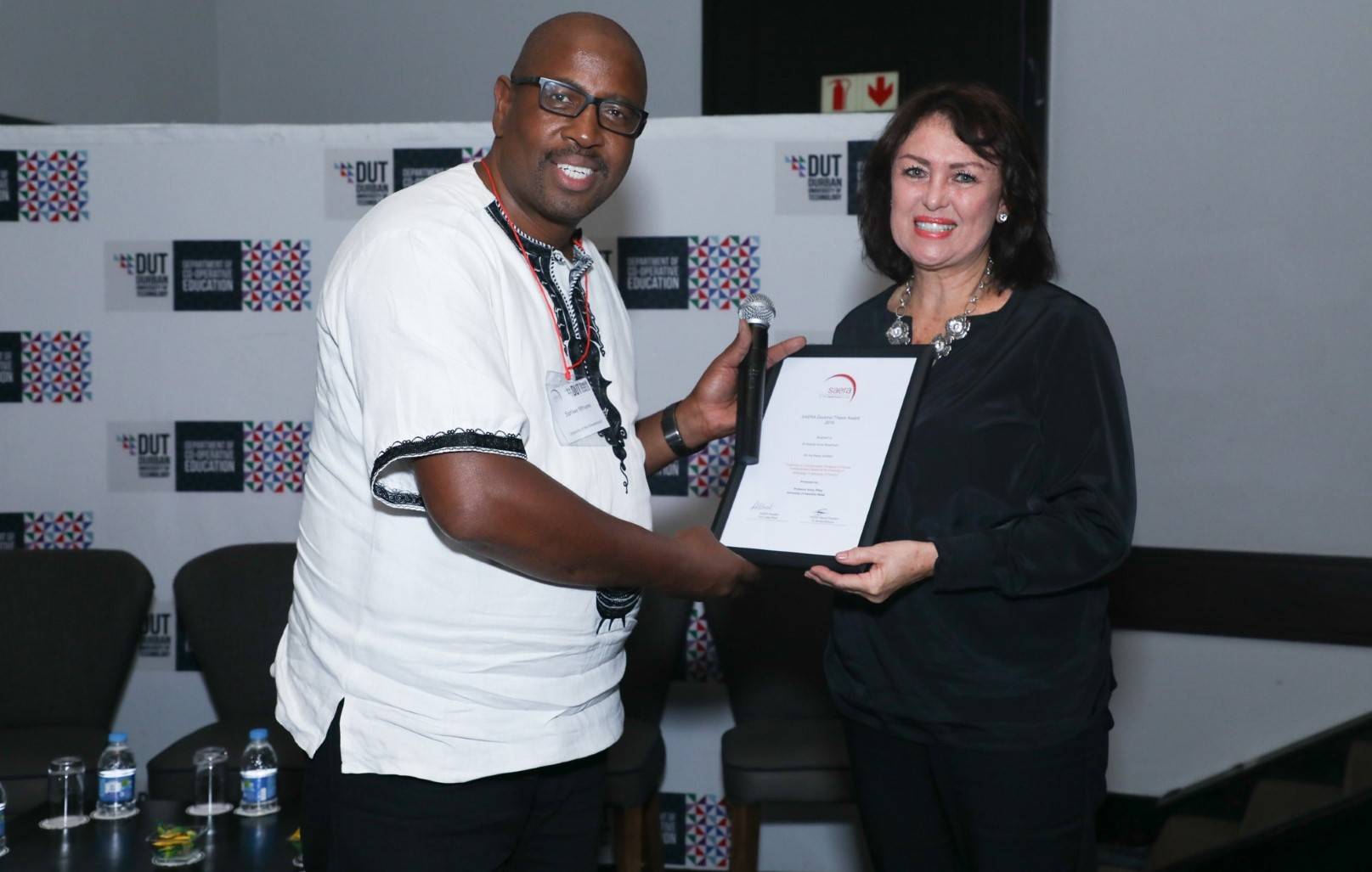 Education Alumnus Receives Best Thesis Award at SAERA conference