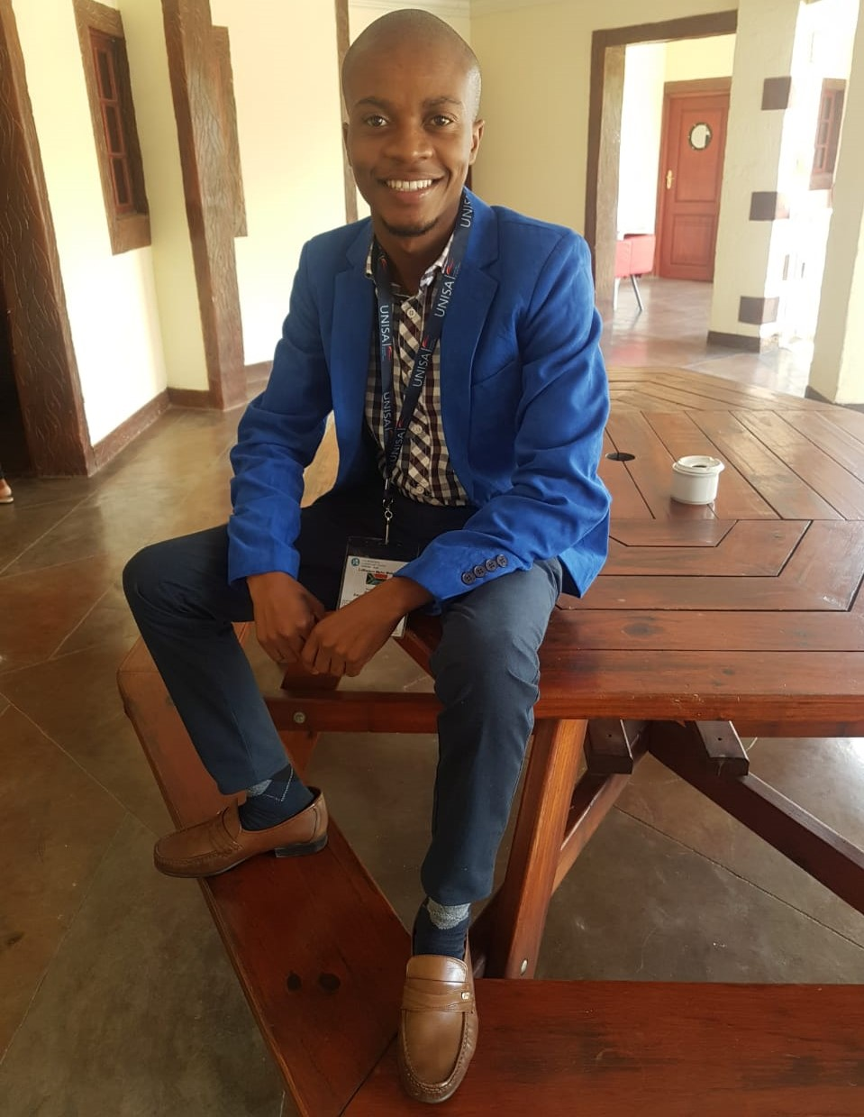 Mr Luthando Molefe is a postgraduate student (Teacher Development Studies) at UKZN's School of Education