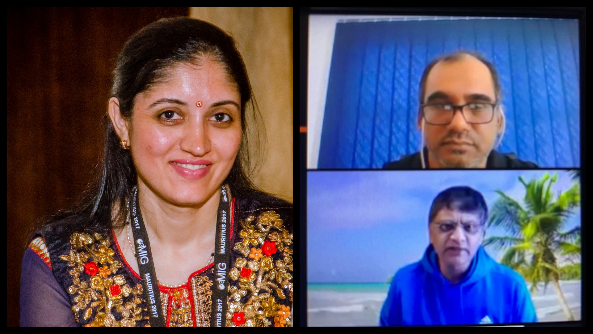 From left: Dr Upasana Singh, Professor Labby Ramrathan and Professor Anil Kanjee.